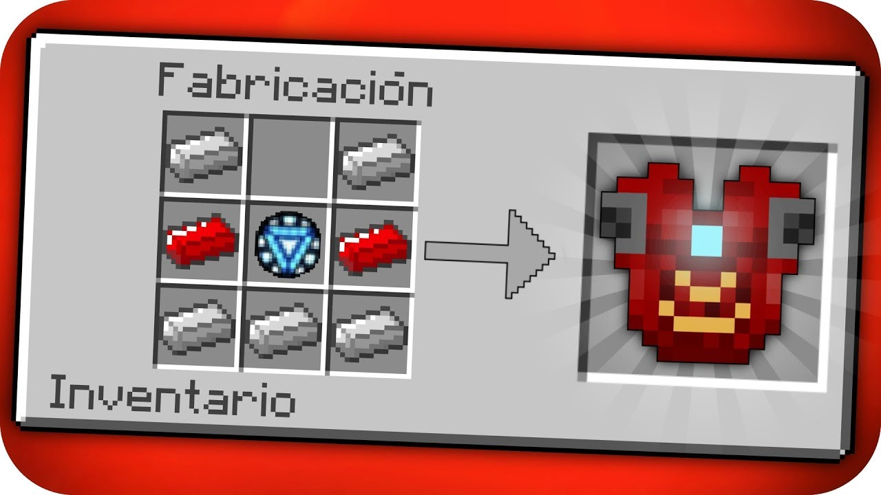 Cómo Hacer La Armadura De Iron Man En Minecraft Bebé Adolfito Vs Iron Man