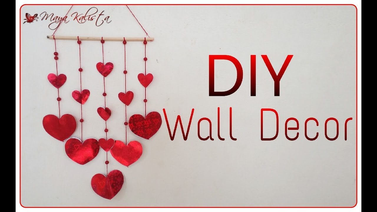 DIY Crafts: DIY Wall Decor For Teenagers   Girls Living Room Decoration  Ideas!   YouTube