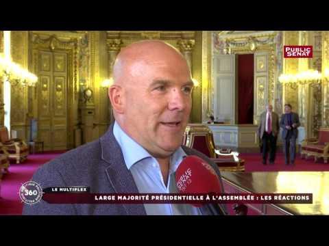 Interview de Bruno Bonnell, élu face à Najat Vallaud-Belkacem