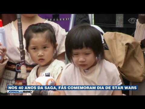 Nos 40 anos da saga, fãs comemoram dia de Star Wars