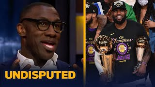UNDISPUTED | Shannon REVEALS Reasons Why The Lakers Will Win Back-To-Back NBA Championships