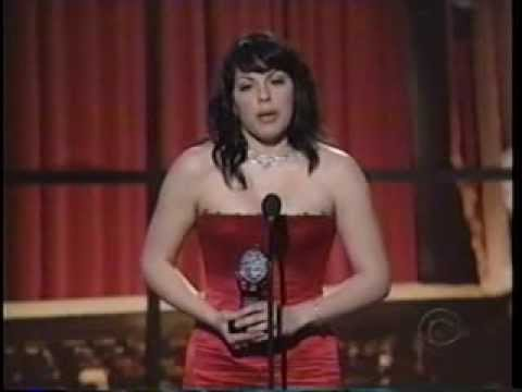 Sara Ramirez wins 2005 Tony Award for Best Featured Actress in a Musical