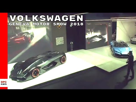 Volkswagen Group Media Night At Geneva Motor Show 2018