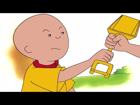 CAILLOU 4 HOUR Marathon  Episodes  Grumpy Caillou  Cartoons for kids