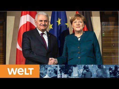 Hoffnung für Yücel: Das sagen Kanzlerin Merkel und der türkische Ministerpräsidenten Yildirim