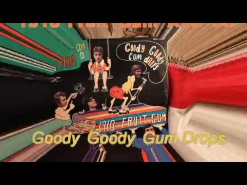 Goody Goody Gum Drops 1910 FRUIT GUM CO