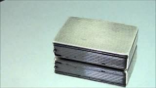 Antique Late 19th Century Continental Silver Match Safe Vesta Case 10