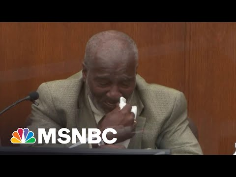 Witness Breaks Down On Stand Watching Floyd Repeatedly Say 'I Can't Breathe' | Katy Tur | MSNBC
