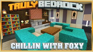 Truly Bedrock S1E57 Chilling with Foxynotail | Minecraft Bedrock Edition SMP, MCPE, MCBE