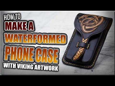 How to Make a Waterformed Phone Case