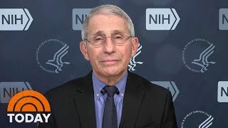 Dr. Fauci: Double Masking Against Mutant Coronavirus 'Just Makes Common Sense'   TODAY Dr. Anthony Fauci tells TODAY that the apparent plateauing in coronavirus cases is .good news,. but says he doesn't think it's related to vaccine distribution., From MyPhotos