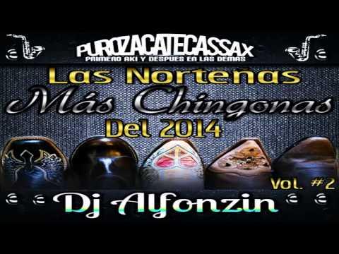 Las Norteñas Más Chingonas del 2014 Vol. #2 |Norteñas Mix 2014| - DjAlfonzin