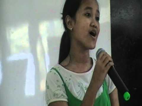 Indonesia Jaya sing by Keisha Daniela
