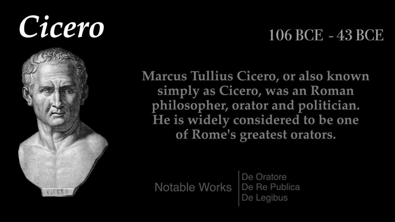 the life and history of marcus tulius cicero Get this from a library the history of the life of marcus tullius cicero [conyers middleton].