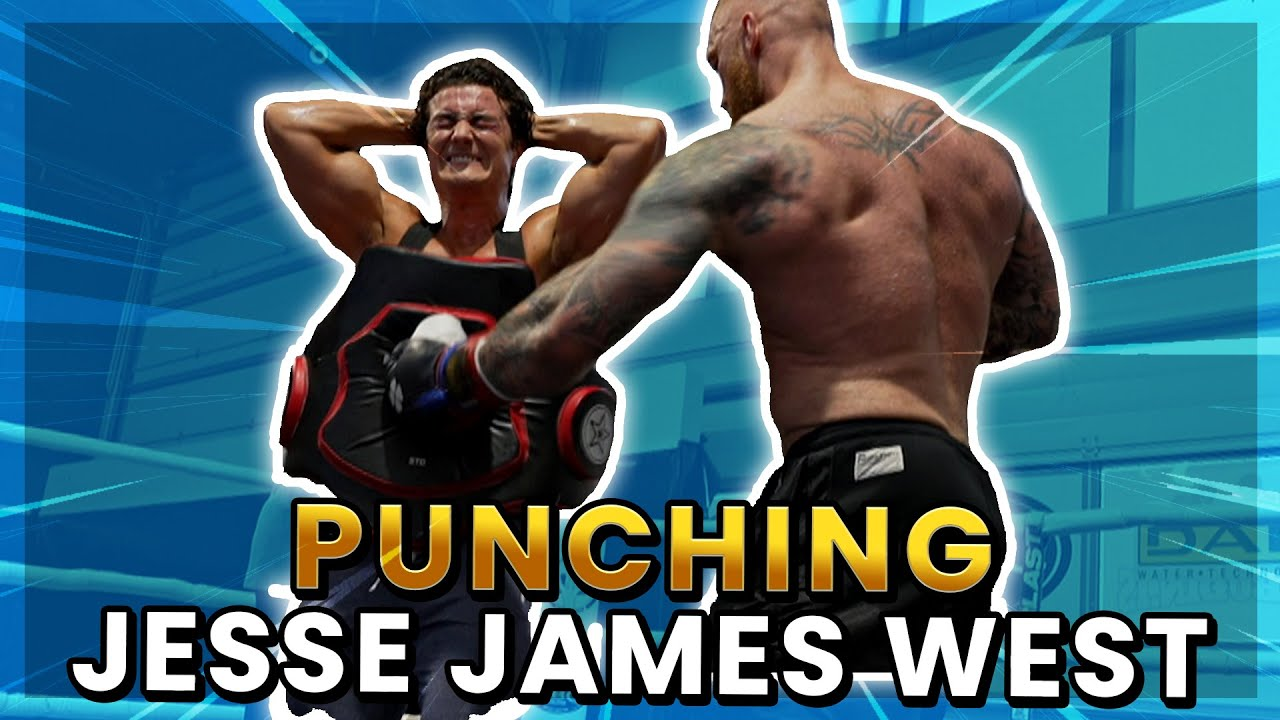 CAN JESSE JAMES WEST SURVIVE THIS PUNCH?!