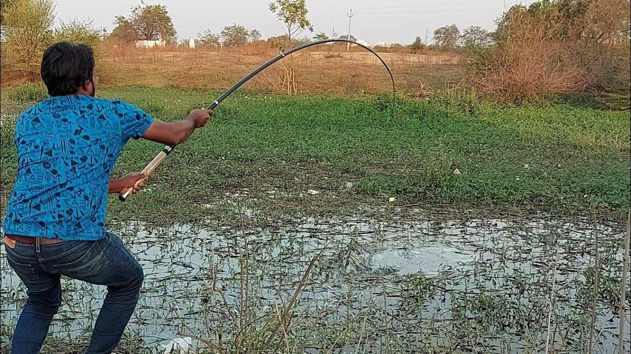 रोहु मछली का बेहतरीन शिकार 😱😱 Amazing Rohu Fishing || Fish Hunting || unique rohu fishing..