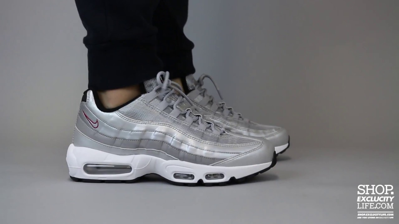 reputable site a50b5 ed430 nike air max 95 reflective
