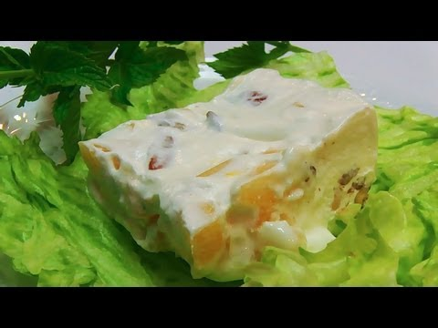 Betty's Frozen Pineapple Cream Salad