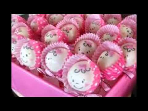 Cake Baby Shower Recipes : baby shower cake pops recipe - YouTube