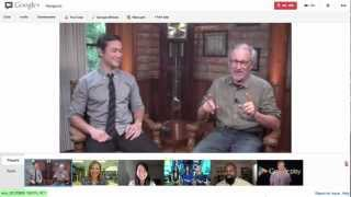 Google Play presents: Steven Spielberg and Joseph Gordon-Levitt