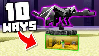10 Unexpected Secret Entrances You'll Never Find in Minecraft!