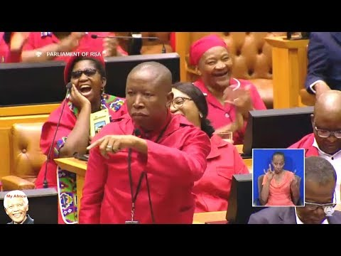 Julius Malema Praise Deputy Minister Of Land Reform