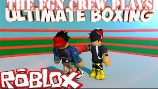 the fgn crew plays roblox ultimate boxing pc