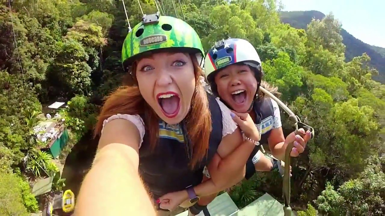video Cairns Giant Jungle Swing
