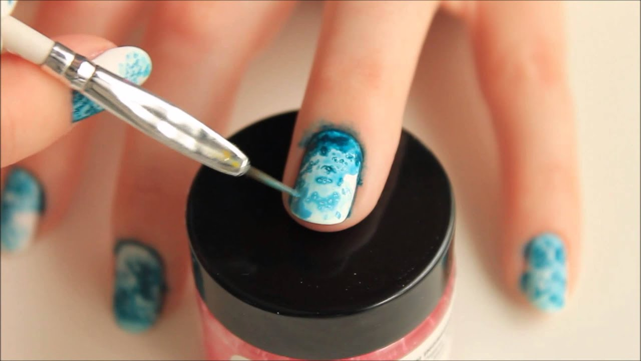 Spr S Nails Salted Watercolor Tutorial