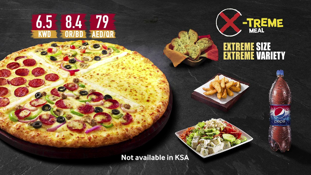 Pizza Hut Meal Launched Xtreme Pizza Campaign Youtube