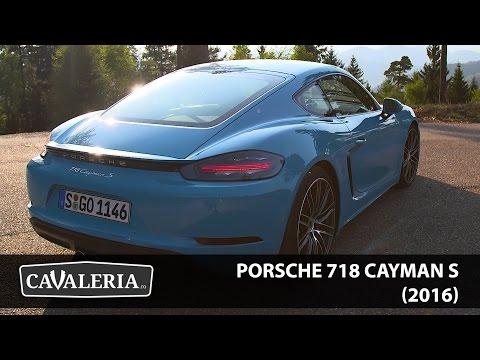 Porsche CaymanS (2016) - Cavaleria.ro