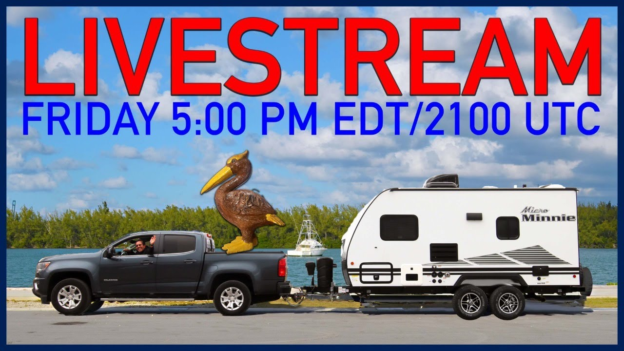 RV Chat Live: One Hour Early