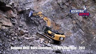 Belgium XR40 Hard Limestone 125 MPa Charleroi - Xcentric Ripper