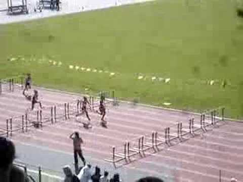 100m Hurdles at Icahn Stadium