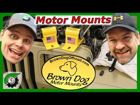 The Best Motor Mounts For Your Jeep: Brown Dog Motor Mounts