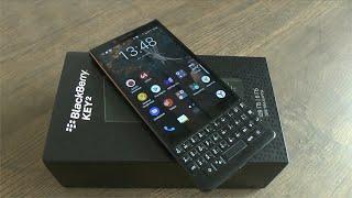 Blackberry KEY2. Тактильный кайф механической классики.