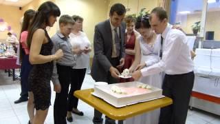 Свадьба Гули и Руслана 055 Магия разрезания торта