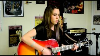 "Me Singing - ""Don't Wake Me Up"" by Chris Brown - Natalie Joly Cover"