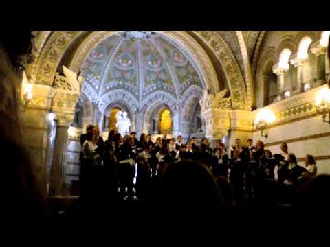 Pro Musica Hungarica Choeur de l'Université Lóránd Eötvös de Budapest - Lyon Fourvière 11/13