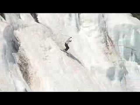 Tuckerman Ravine jumping headwall