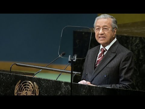 Dr M addresses UN General Assembly