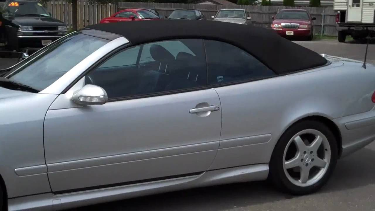 2002 mercedes benz clk430 cabriolet youtube. Black Bedroom Furniture Sets. Home Design Ideas