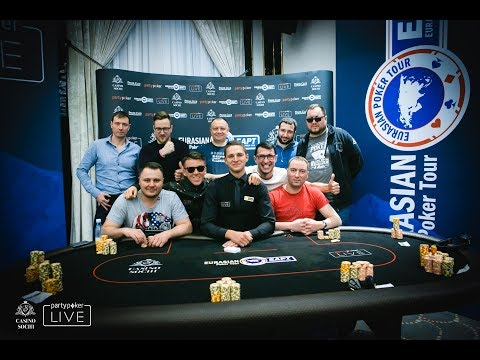 Олег Титов - чемпион EAPT Snowfest Russian Poker Championship