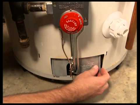 Relighting Pilot Light On Water Heater | Lighting Ideas