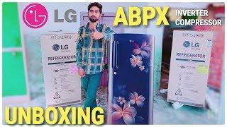 LG 190 L Direct Cool Single Door 4 Star Refrigerator (Blue Plumeria, #GLB201ABPX)