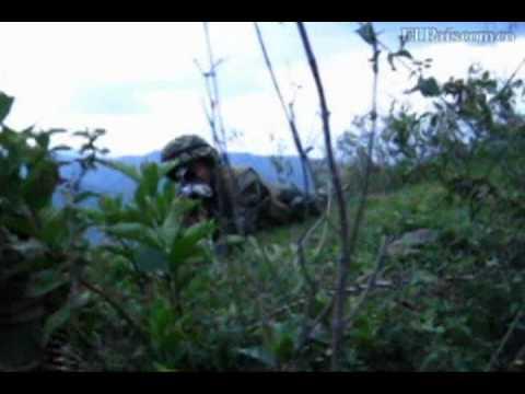 Fuerte combates en Caloto, Cauca