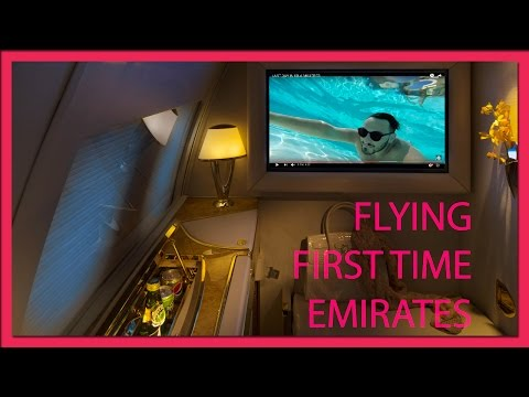 FIRST TIME FLYING EMIRATES