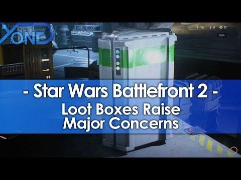 Star Wars Battlefront 2 Loot Boxes Raise Major Concerns