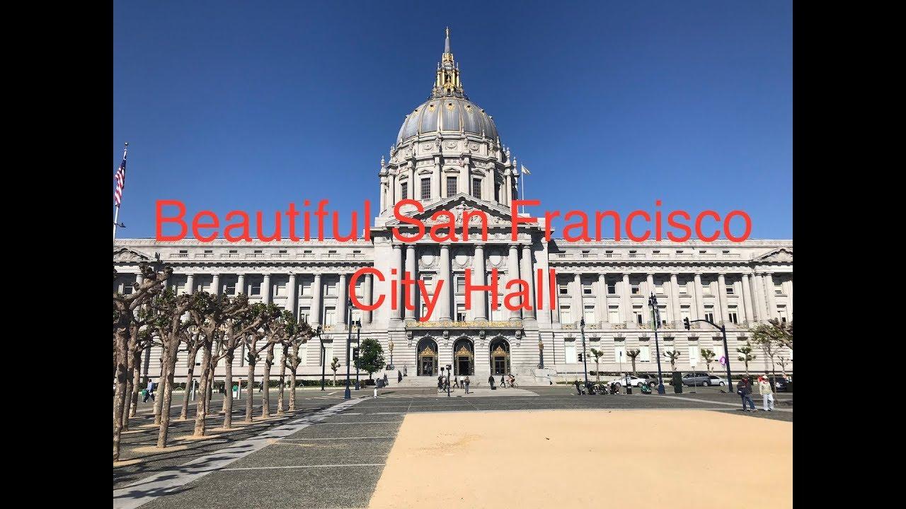 Beautiful San Francisco City Hall  旧金山市政厅