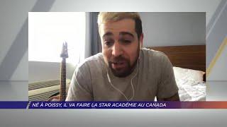 Yvelines | Né à Poissy, il va faire la Star Académie au Canada